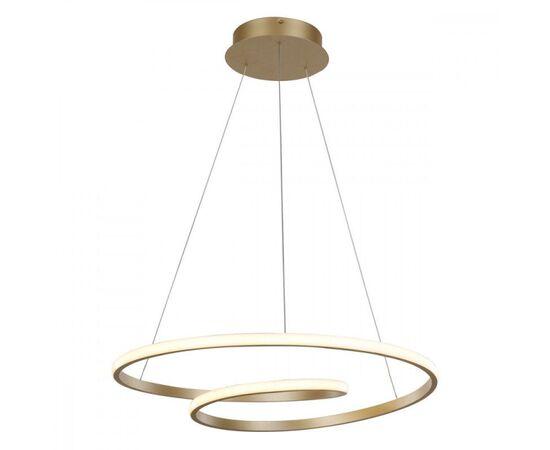 LED Полилей Capita MD17011011-1A GOLD Italux | Osvetlenieto.bg