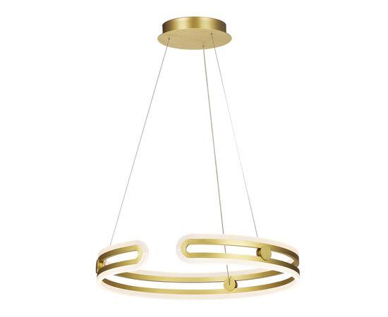 LED Полилей Kiara MD17016002-1E GOLD Italux   Osvetlenieto.bg