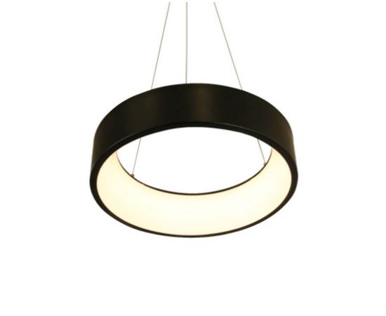 LED модерен полилей APOLLO BR81LEDP45BK Aca Lighting 34W 3000K 1700 lm   Osvetlenieto.bg