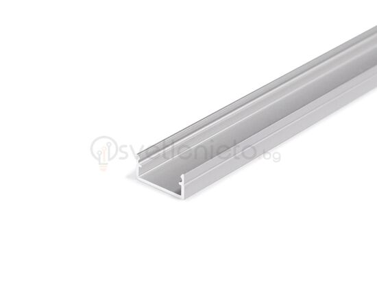 Анодизиран LED профил BEGTON12 J/S 2000 за открит монтаж | Osvetlenieto.bg